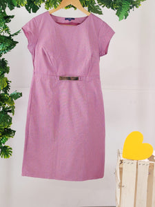 AJIO - Dress with Gold Buckle (sz M)