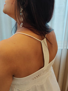 H&M - Razor Back Cotton Top / Dress (US12/ eur 42)