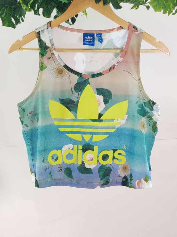 ADIDAS - Crop Top (sz UK 10 / S)