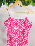 HERE & NOW - Printed Dress with Buttons (sz S)