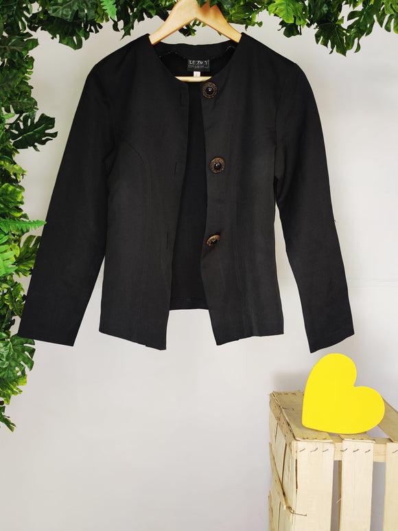 REGENCY - Coat with Statement Buttons (sz 8)