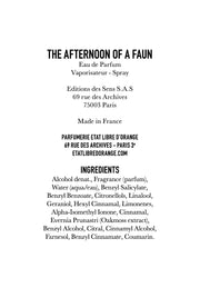 THE AFTERNOON OF A FAUN
