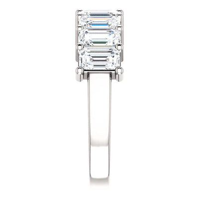 WBM0104 ~ 2.06CT EMERALD ANNIVERSARY BAND