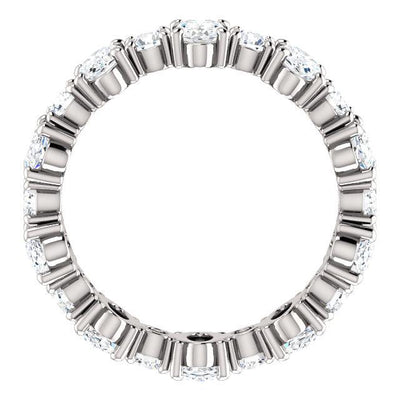 WBM0105 ~ 3.10CT OVAL ROUND ANNIVERSARY BAND