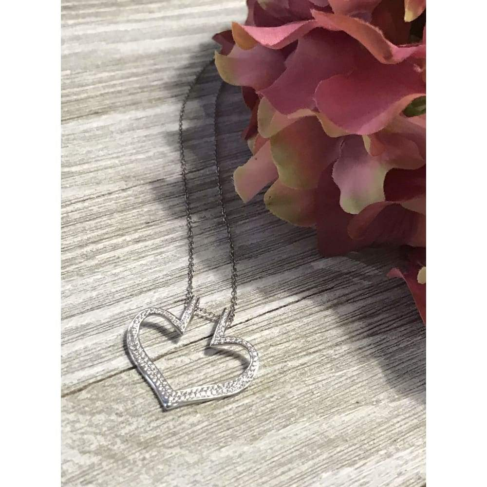 Necklace ~ Moissanite Ring Holder Necklace - Necklace