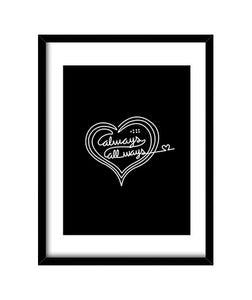 cuadros always love [noehlya], talla 30 x 40