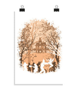posters autumn in astoria, talla 20 x 30