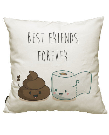 fundas cojines best friends forever, talla 50 x 50