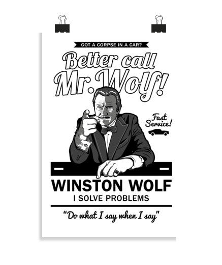 posters better call mr. wolf, talla 20 x 30