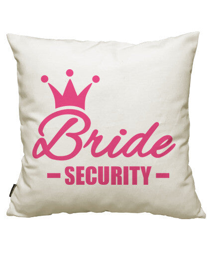 fundas cojines bride security crown, talla 50 x 50
