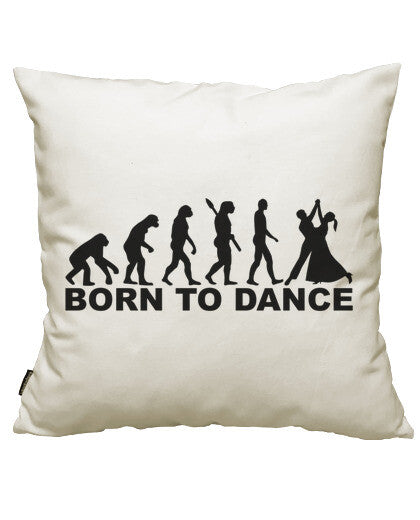 fundas cojines evolution born to dance, talla 50 x 50