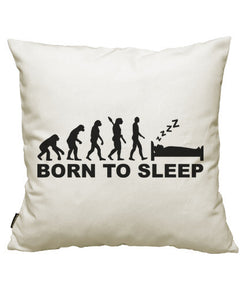 fundas cojines evolution born to sleep, talla 50 x 50