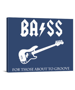 lienzos for those about to groove (pbass), talla 40 x 30