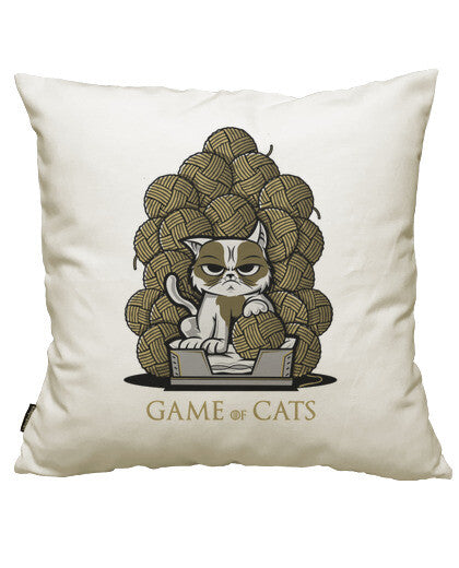 fundas cojines game of cats, talla 50 x 50