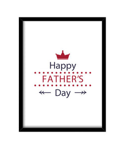 cuadros happy fathers day 2, talla 30 x 40