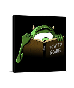 lienzos how to scare?, talla 40 x 40