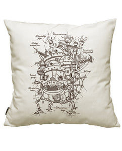 fundas cojines howl's moving castle, talla 50 x 50
