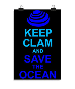 posters humor and save the ocean, talla 20 x 30
