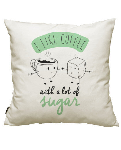 fundas cojines i like coffee, talla 50 x 50