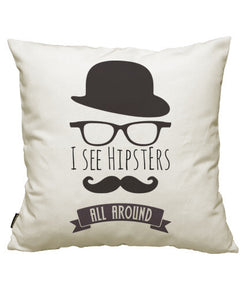 fundas cojines i see hipsters all around, talla 50 x 50