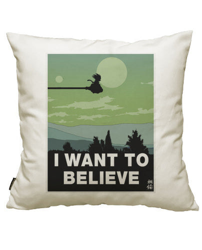 fundas cojines i want to believe, talla 50 x 50