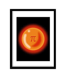 cuadros irrational ball, talla 30 x 40