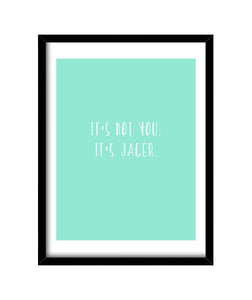 cuadros it's not you, talla 30 x 40