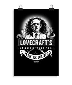 posters lovecraft's canned octopus (light), talla 20 x 30