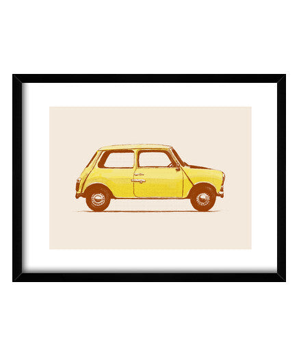 cuadros mini - mr beans, talla 40 x 30