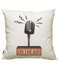 fundas cojines musica - on the air (i), talla 50 x 50