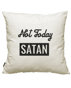 fundas cojines not today satan, talla 50 x 50