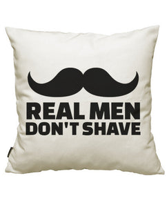 fundas cojines real men don't shave, talla 50 x 50