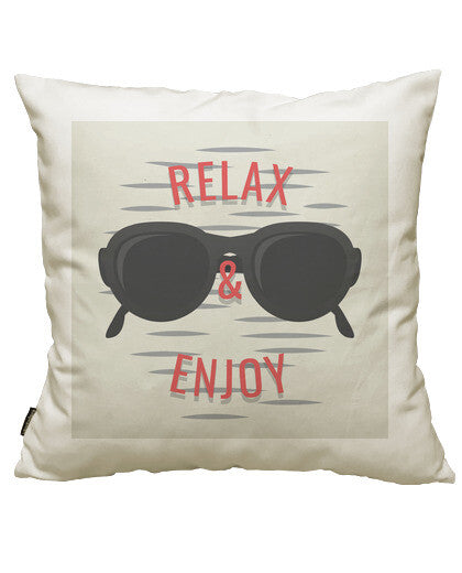 fundas cojines relax and enjoy, talla 50 x 50
