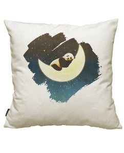 fundas cojines sleeping panda on the moon, talla 50 x 50