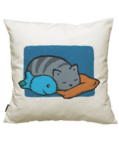 fundas cojines sleeping with the fishes, talla 50 x 50