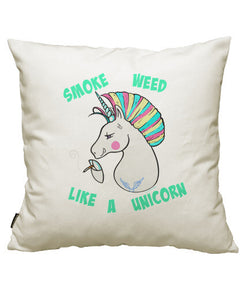 fundas cojines smoke w**d like a unicorn., talla 50 x 50