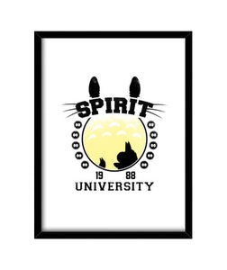 cuadros spirit university, talla 30 x 40