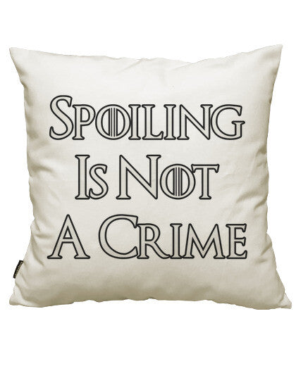 fundas cojines spoiling is not a crime, talla 50 x 50