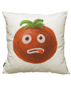 fundas cojines stressed out cartoon funny tomato, talla 50 x 50