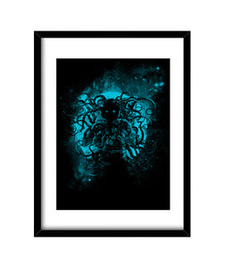 cuadros terror from deep space, talla 30 x 40