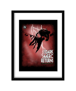 cuadros the dark merc returns, talla 30 x 40