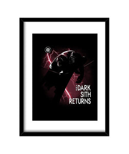 cuadros the dark sith returns, talla 30 x 40