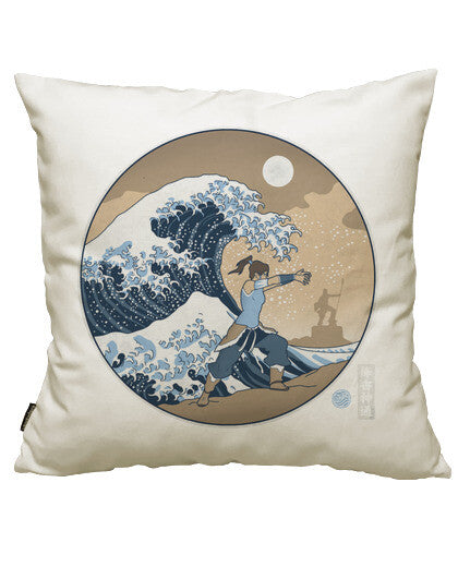 fundas cojines the great wave of republic city, talla 50 x 50