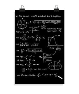 posters the meaning of life, talla 20 x 30