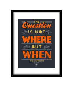cuadros the question, talla 30 x 40