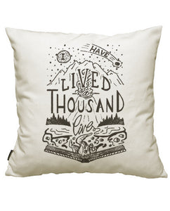 fundas cojines thousand lives, talla 50 x 50