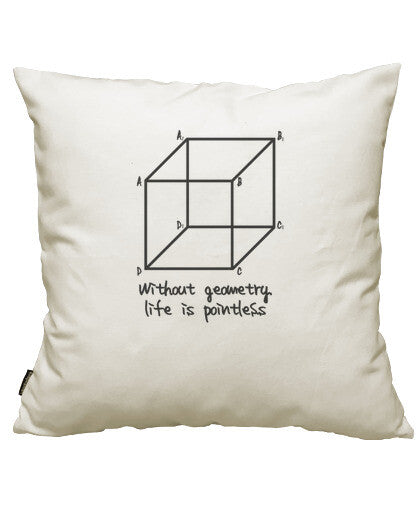 fundas cojines without geometry life is pointless, talla 50 x 50