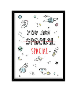 cuadros you are spacial, talla 30 x 40
