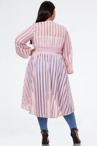Pink Spring Duster
