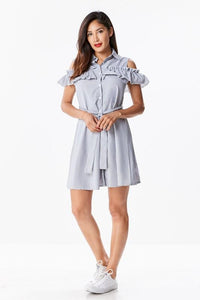Mari Casual and Chic Shirt Dress